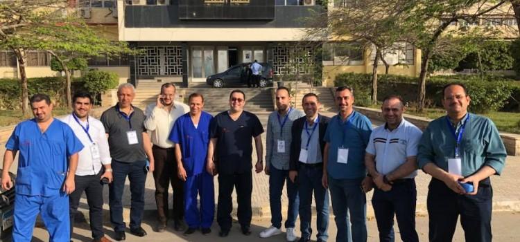 قام د/ باسم هنرى بعمل ورشة عمل يومي 11 و 12 من شهر مايو بمشاركة عدد كبير من الاطباء من جميع دول العالم العربى